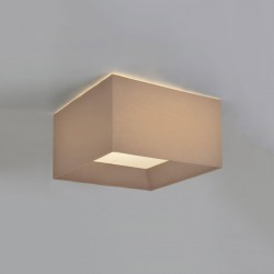 Astro Bevel Square 400 Oyster Fabric Shade