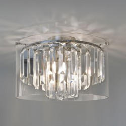 Astro Asini Polished Chrome Ceiling Light