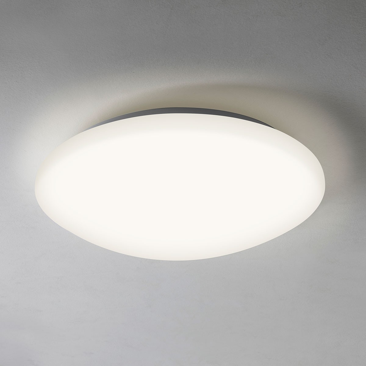 White Ceiling Lights: Astro Massa 300 White Ceiling Light At UK Electrical Supplies