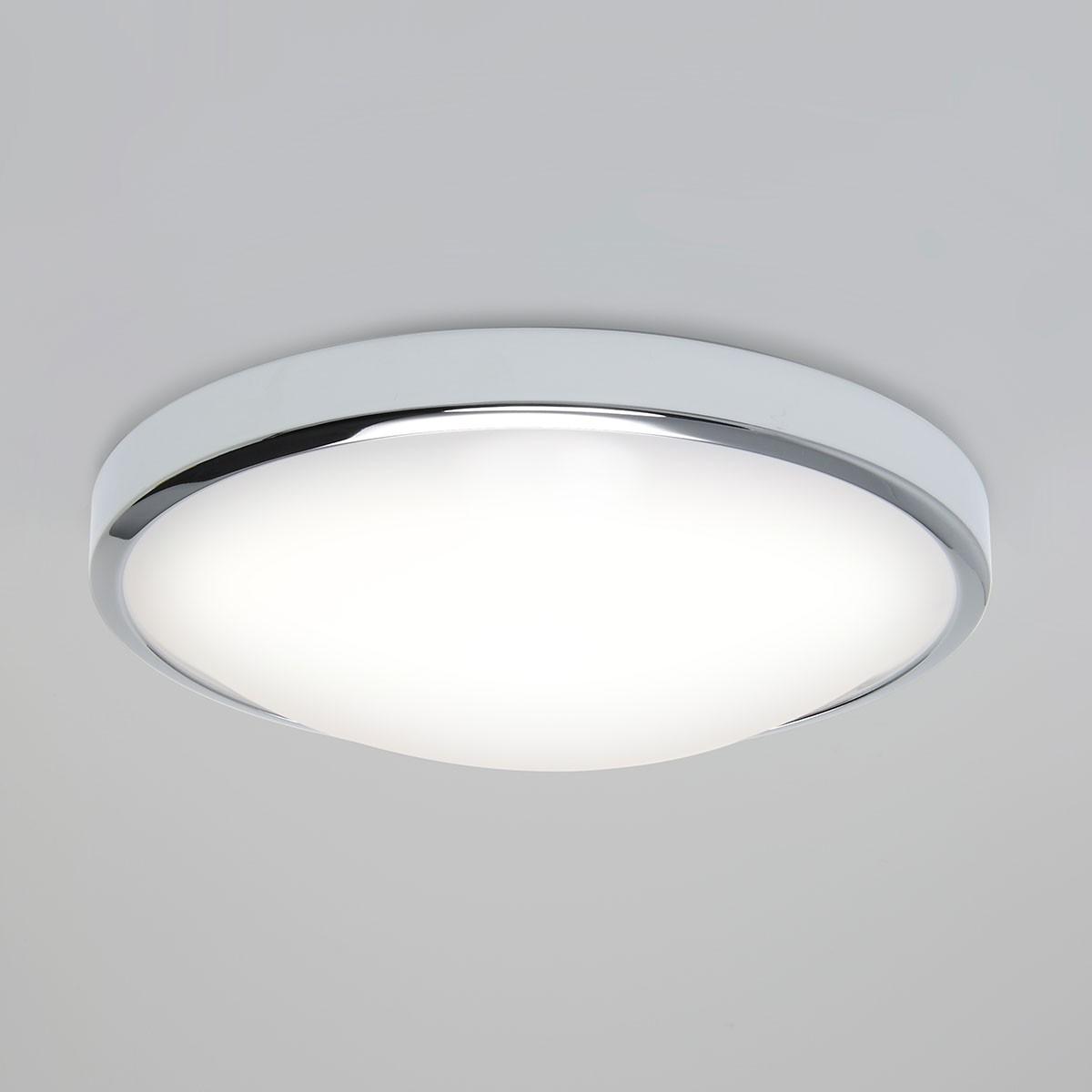 Astro osaka sensor polished chrome led ceiling light with motion astro osaka sensor polished chrome led ceiling light with motion sensor mozeypictures Choice Image