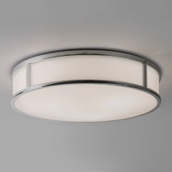 Astro Mashiko 400 Round Polished Chrome Ceiling Light