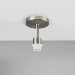 Astro Semi Flush Matt Nickel Ceiling Light Unit