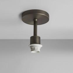 Astro Semi Flush Bronze Ceiling Light