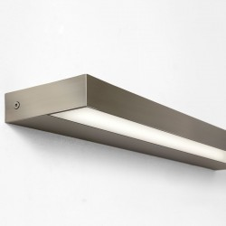 Astro Axios 600 Matt Nickel Bathroom LED Wall Light