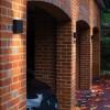 Astro Elis Single Black Outdoor LED Wall Light