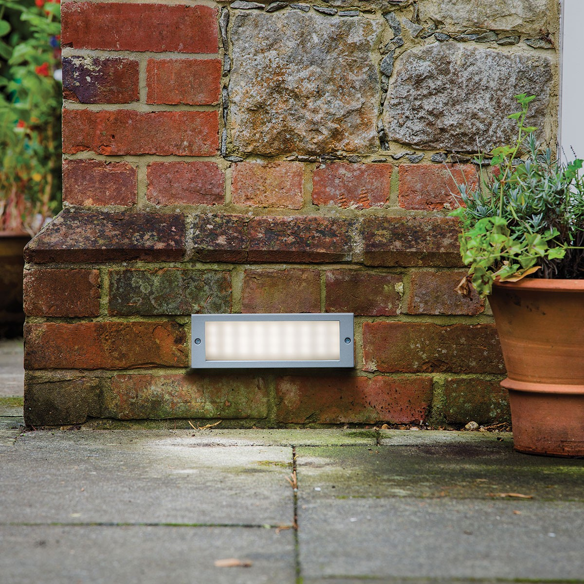 Wall Lights On Brick : Astro Brick Outdoor LED Wall Light at UK Electrical Supplies.