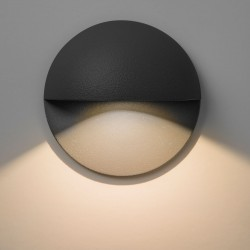 Astro Tivoli LED Black Outdoor Wall Light
