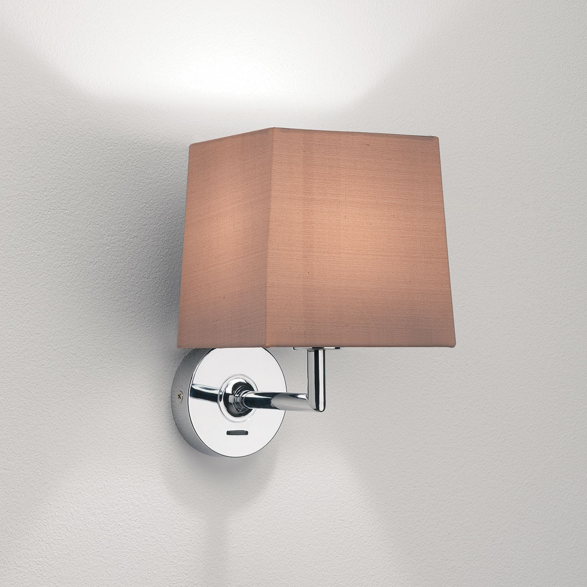 Wall Lights In Chrome : Astro Appa Solo Polished Chrome Wall Light at UK Electrical Supplies.