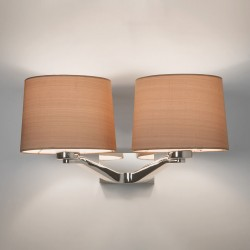 Astro Montclair Twin Polished Chrome Wall Light