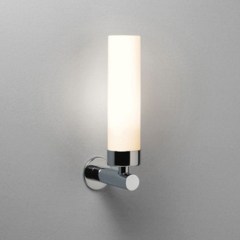 Astro Tube Polished Chrome Bathroom Wall Light