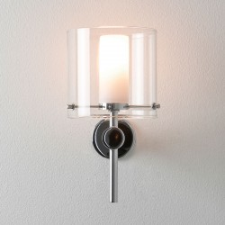 Astro Arezzo Polished Chrome Bathroom Wall Light