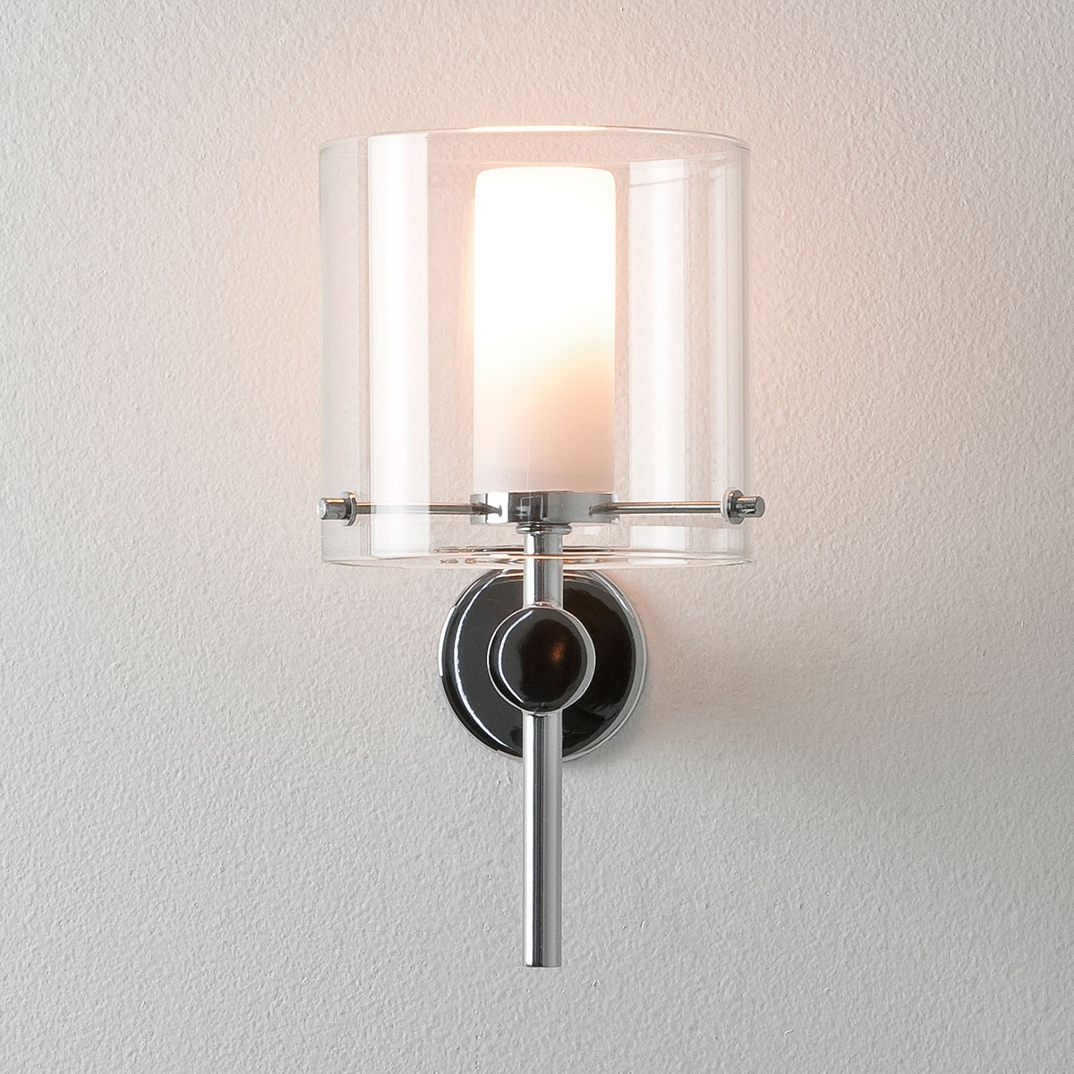 Astro Arezzo Polished Chrome Bathroom Wall Light At Uk