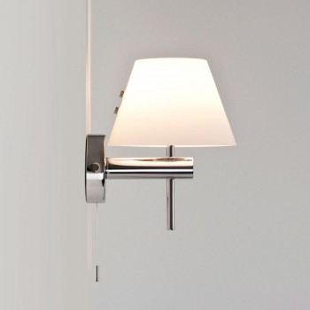 Astro Roma Switched Polished Chrome Bathroom Wall Light
