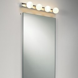 Astro Cabaret 4 Polished Chrome Bathroom Wall Light