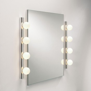Astro Cabaret 4 Polished Chrome Bathroom Wall Light