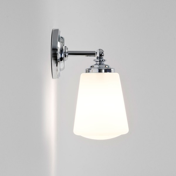 Astro Anton Polished Chrome Bathroom Wall Light at UK Electrical ...