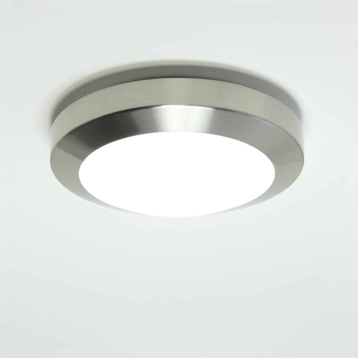 Wall Lights Nickel : Astro Dakota Plus 180 Brushed Nickel Bathroom Wall Light at UK Electrical Supplies.