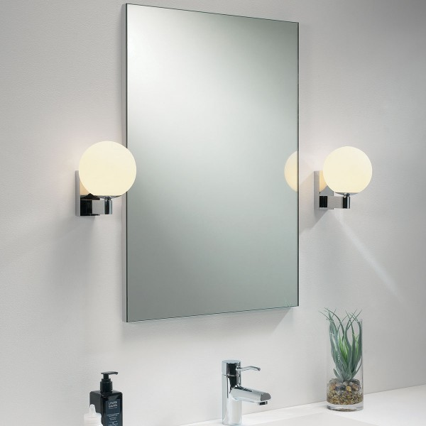 Astro sagara polished chrome bathroom wall light at uk electrical astro sagara polished chrome bathroom wall light mozeypictures Image collections