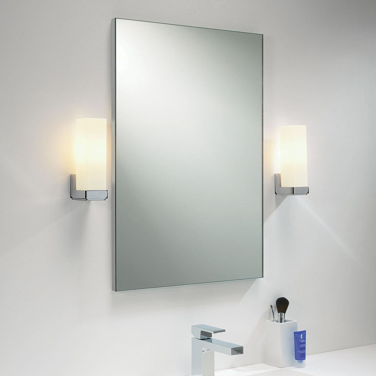 astro bathroom lights astro taketa polished chrome bathroom wall light at uk 10139
