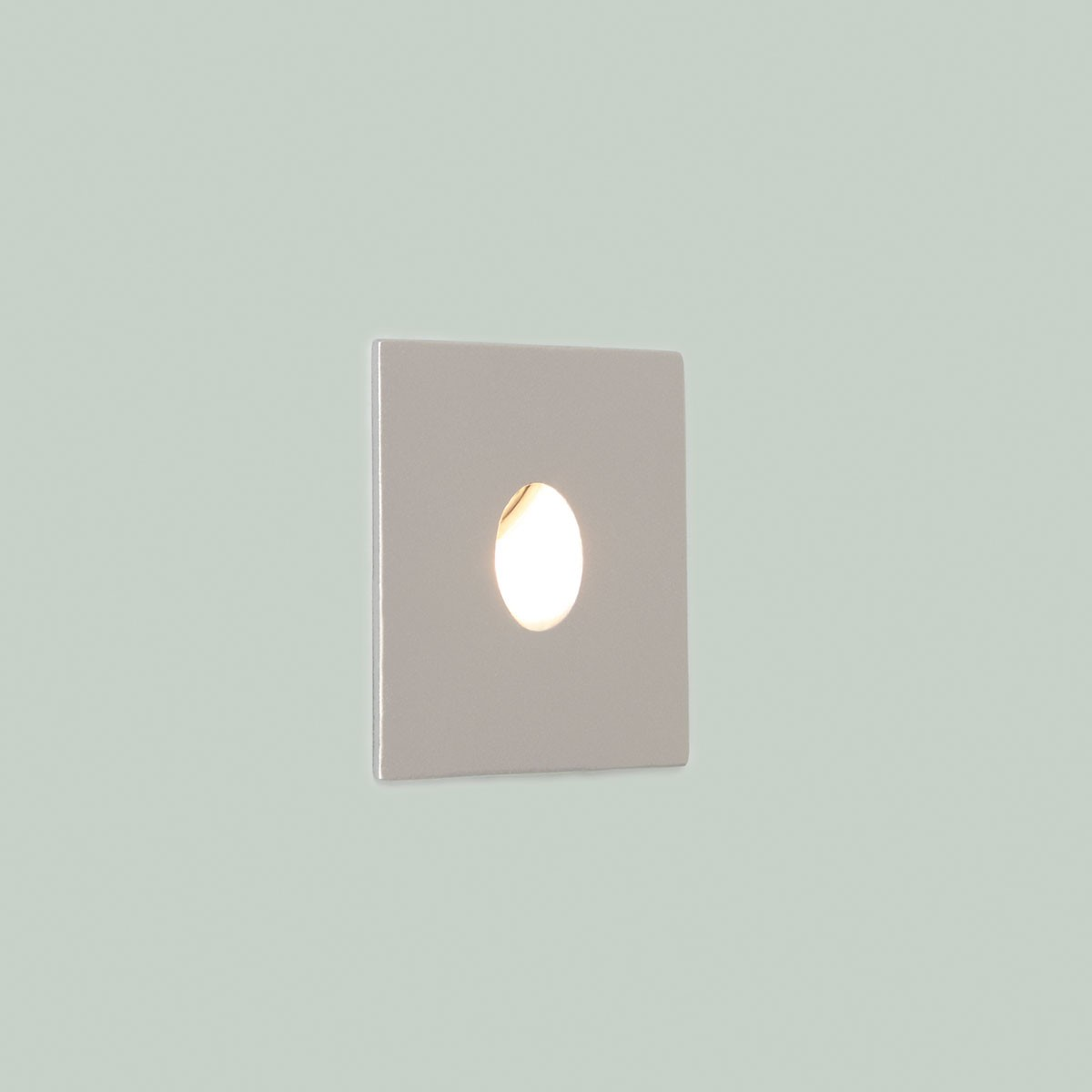 Silver Crystal Wall Lights : Astro Tango LED Painted Silver Bathroom Wall Light - 3000K at UK Electrical Supplies.