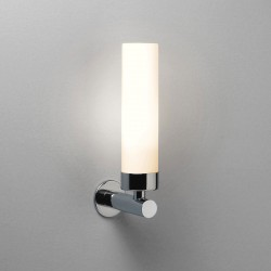 Astro Tube Polished Chrome Bathroom LED Wall Light