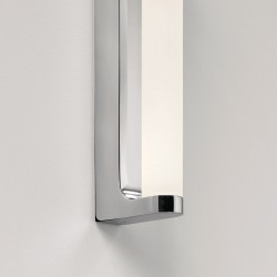 Astro Avola Polished Chrome Bathroom LED Wall Light