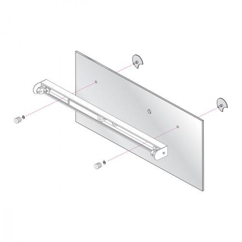 Astro 0992 Mirror Mounting Kit 2