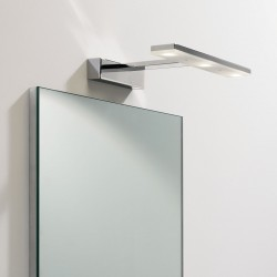 Astro Zip Polished Chrome Bathroom LED Wall Light