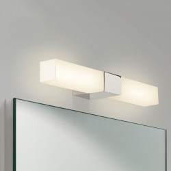 Astro Padova Square Polished Chrome Bathroom Wall Light
