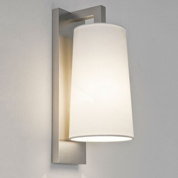 Astro Lago 280 Matt Nickel Bathroom Wall Light