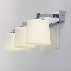 Astro Triplex Polished Chrome Bathroom Wall Light