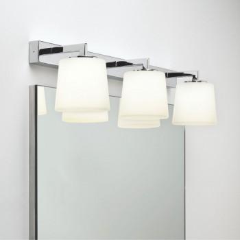 Astro Triplex Polished Chrome Bathroom Wall Light
