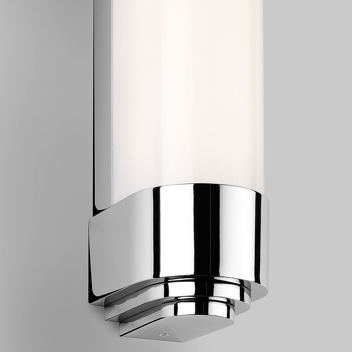Led Bathroom Wall Lights Uk: Astro Belgravia 500 Polished Chrome Bathroom LED Wall