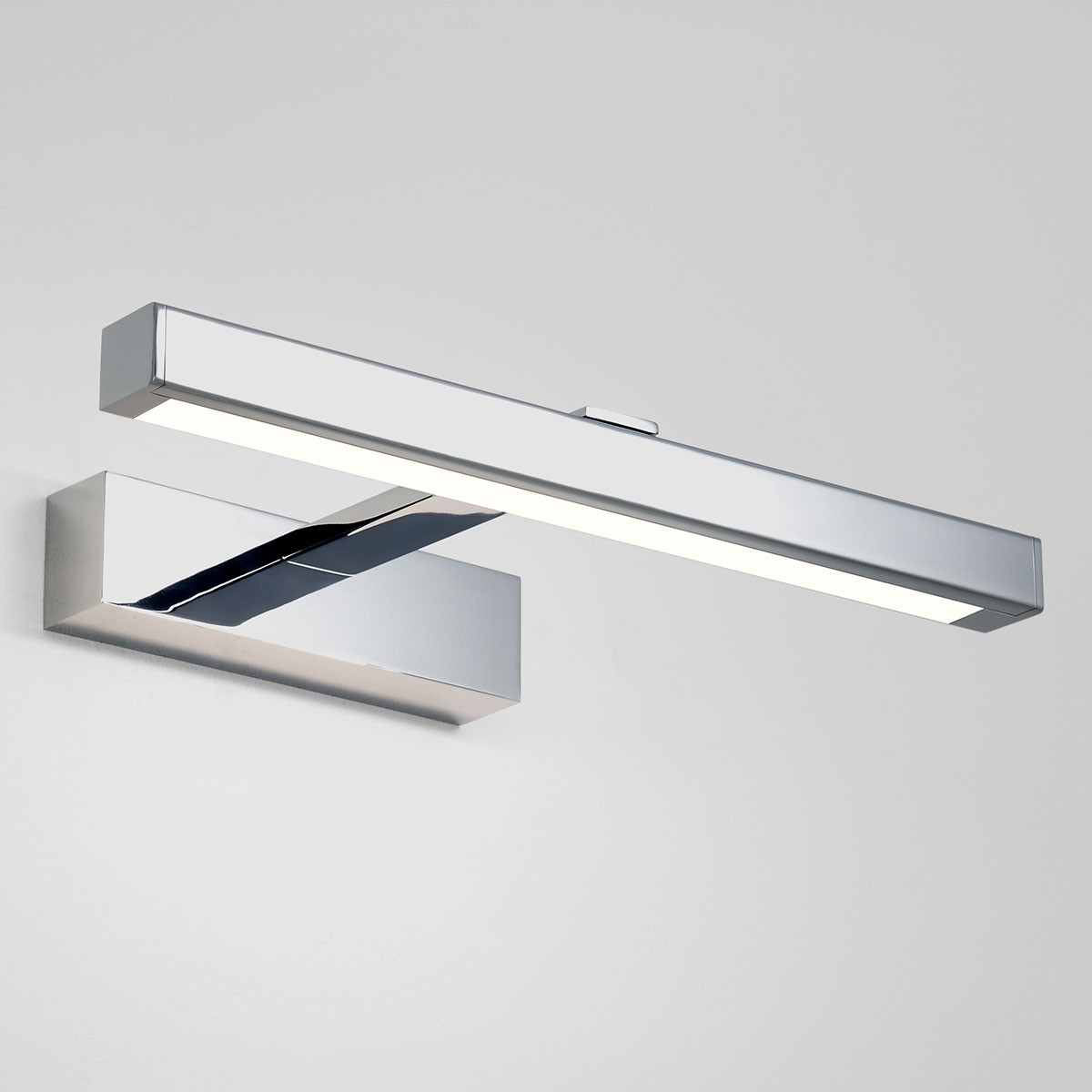 Led Bathroom Wall Lights Uk: Astro Kashima 350 Polished Chrome Bathroom LED Wall Light