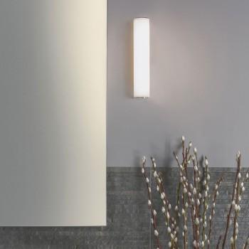 Astro Domino Polished Chrome Bathroom LED Wall Light