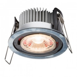 Knightsbridge ProKnight 8W Warm White Dimmable Fixed LED Downlight