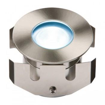 Knightsbridge 1W Blue LED Stainless Steel Decking Light