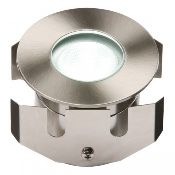 Knightsbridge 1W White LED Stainless Steel Decking Light