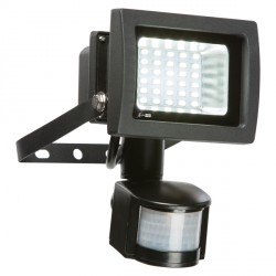 Knightsbridge 15W 6000K Adjustable LED Security Floodlight with PIR Sensor
