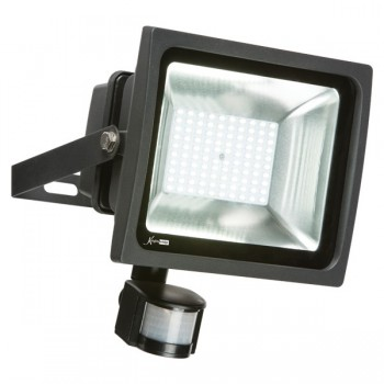 Knightsbridge 50W 6000K Adjustable LED Security Floodlight with PIR Sensor