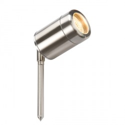 Knightsbridge 35W Heavy Gauge Stainless Steel Spike Light
