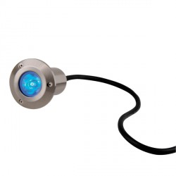 Knightsbridge 1W Blue LED Stainless Steel Walkover Light