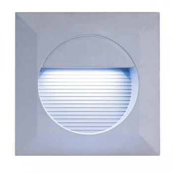 Knightsbridge 1.4W Square Grey LED Guide Light
