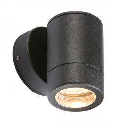 Knightsbridge 35W Black Fixed Wall Light