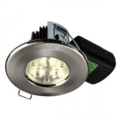 Collingwood Halers H2 Pro 550 T 3000K Dimmable Fixed LED Downlight - 70° Beam Angle