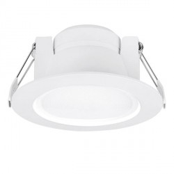 Aurora Lighting Uni-Fit 10W Warm White Non-Dimmable Fixed LED Downlight