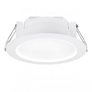 Aurora Lighting Uni-Fit 15W Warm White Non-Dimmable Fixed LED Downlight
