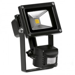 Aurora Lighting HeliusPIR 10W Cool White Adjustable LED Floodlight