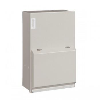 Hager Design 10 Metal 2 Way Consumer Unit - 63A Main Switch (Amendment 3)