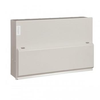 Hager Design 10 Metal 14 Way Consumer Unit - 100A 30mA RCD (Amendment 3)